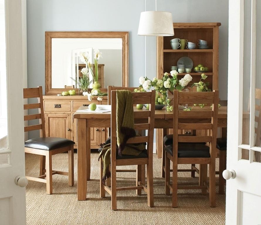 Masa scaune lemn masiv
