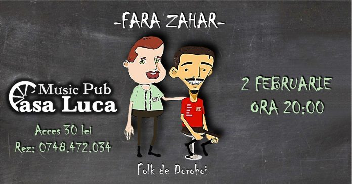 Concert Fara Zahar Casa Luca Radauti