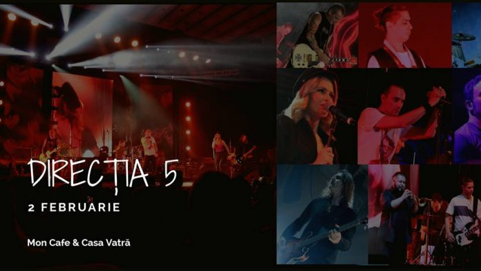 Directia 5 la Mon Cafe & Casa Vatra Radauti