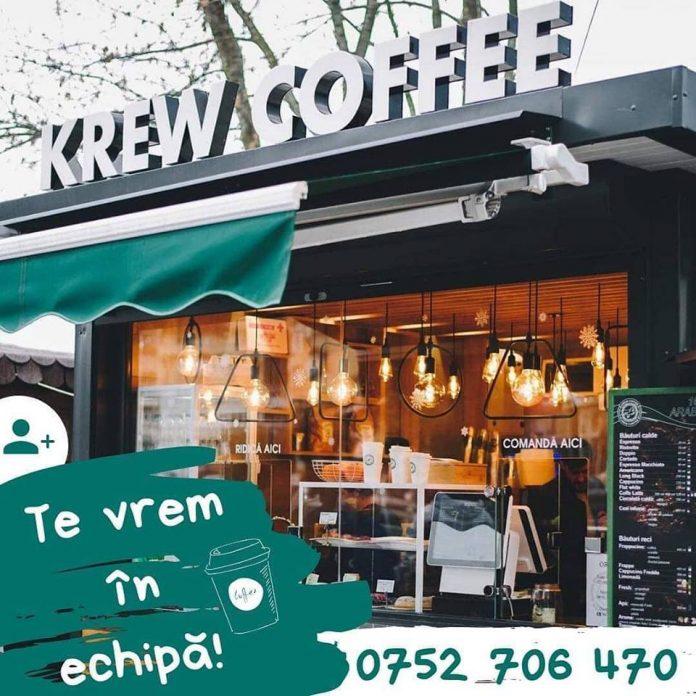 Krew Coffee Radauti angajeaza