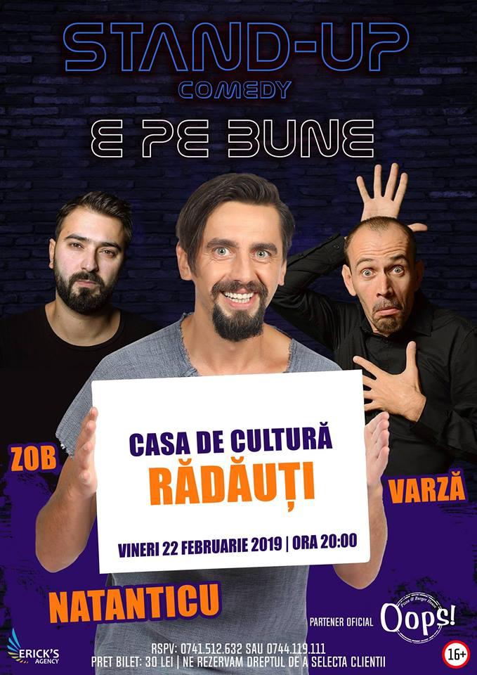 StandUp Comedy pe Bune la Radauti