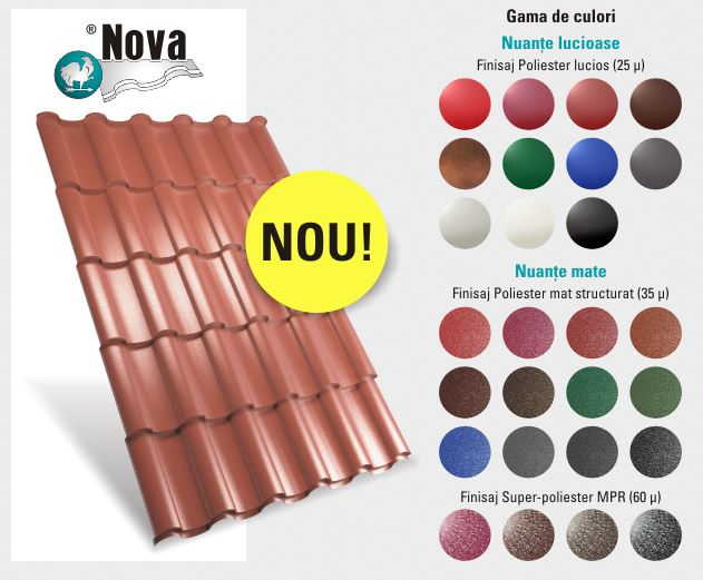 Tigla Metalica NOVA