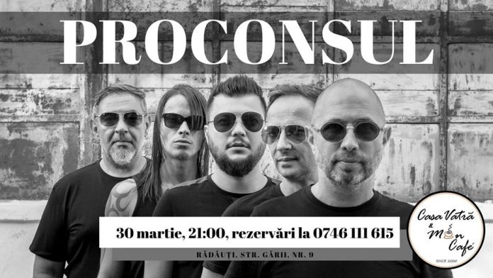 Concert Proconsul la Mon Cafe & Casa Vatra
