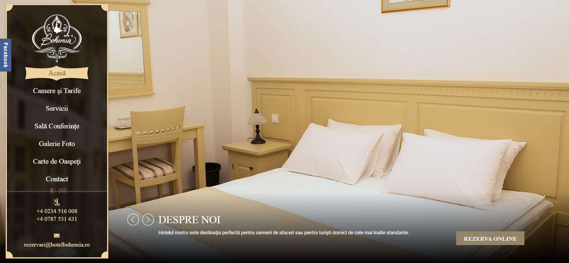 HotelBohemia.ro