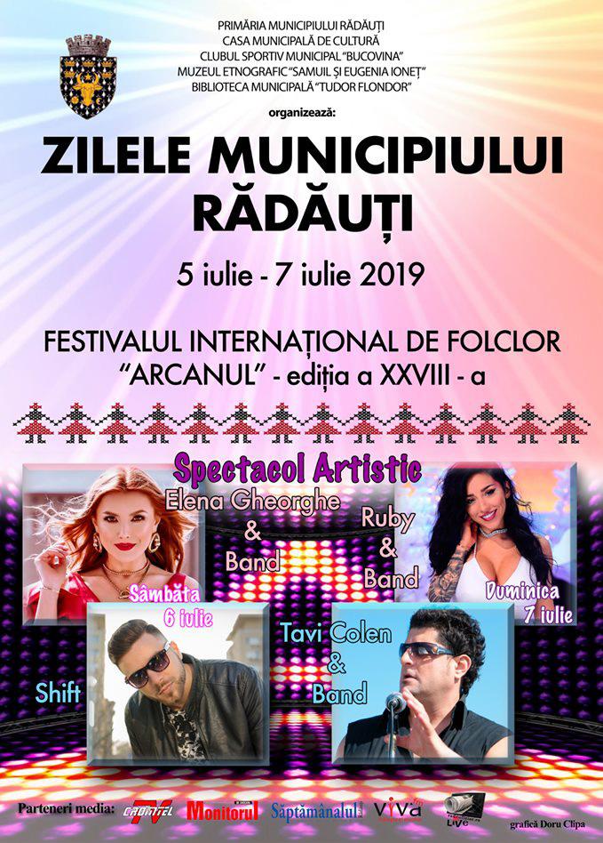 Zilele Municipiului Radauti 2019