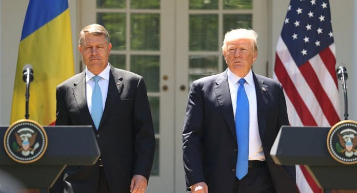 Klaus Iohannis cu Donald Trump