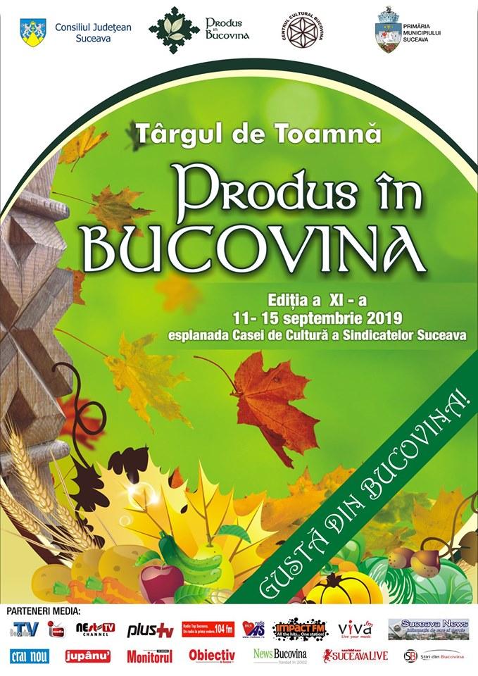 Targul de Toamna Produs in Bucovina 2019