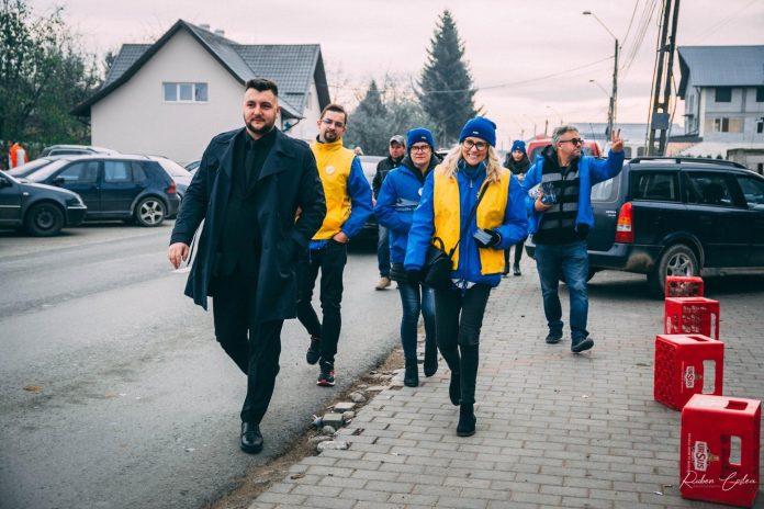 Tibeica Silviu-Catalin cu echipa TNL Radauti la Vicovu de Sus