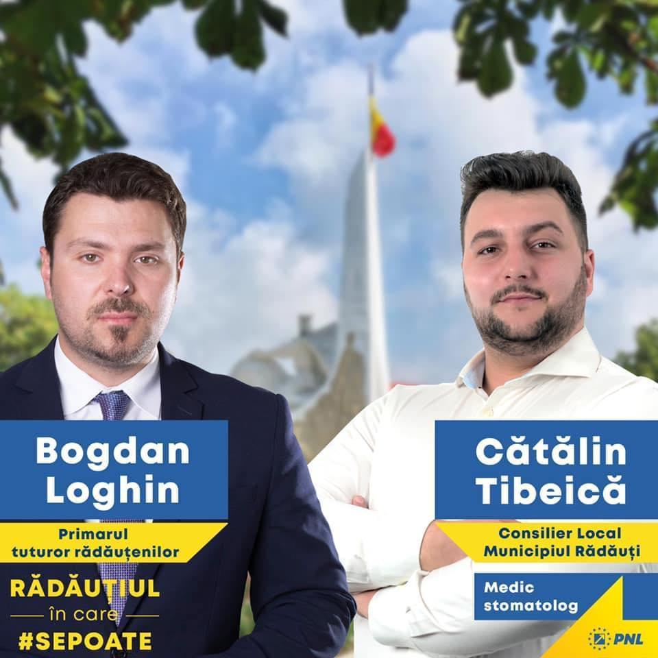 Bogdan Loghin și Cătălin Tibeică