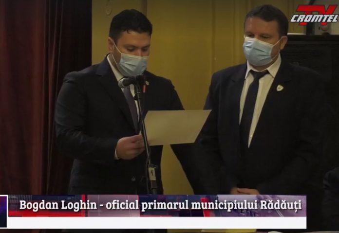 Bogdan Loghin, Primarul Tuturor Rădăuțenilor a fost INVESTIT