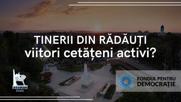 Tinerii din Rădăuți, viitori cetățeni activi