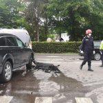 Accident între un Audi Q7 și un VW Passat în această dimineață la Rădăuți (1)