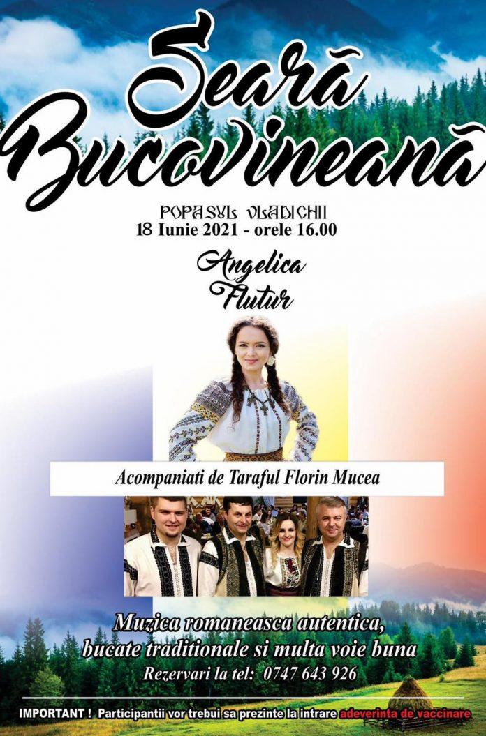 Seara Bucovineana 18 Iunie 2021 Popasul Vladichii