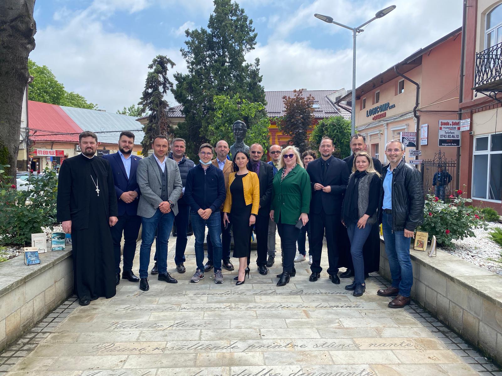 Comemorare Mihai Eminescu la Radauti 15 Iunie
