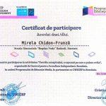 Elevii clasei a III-a de la Școala Gimnazială Bogdan Vodă din Rădăuți, îndrumați de doamna profesoară Mirela Chidon-Frunză, au participat la Media Literacy Program (2)