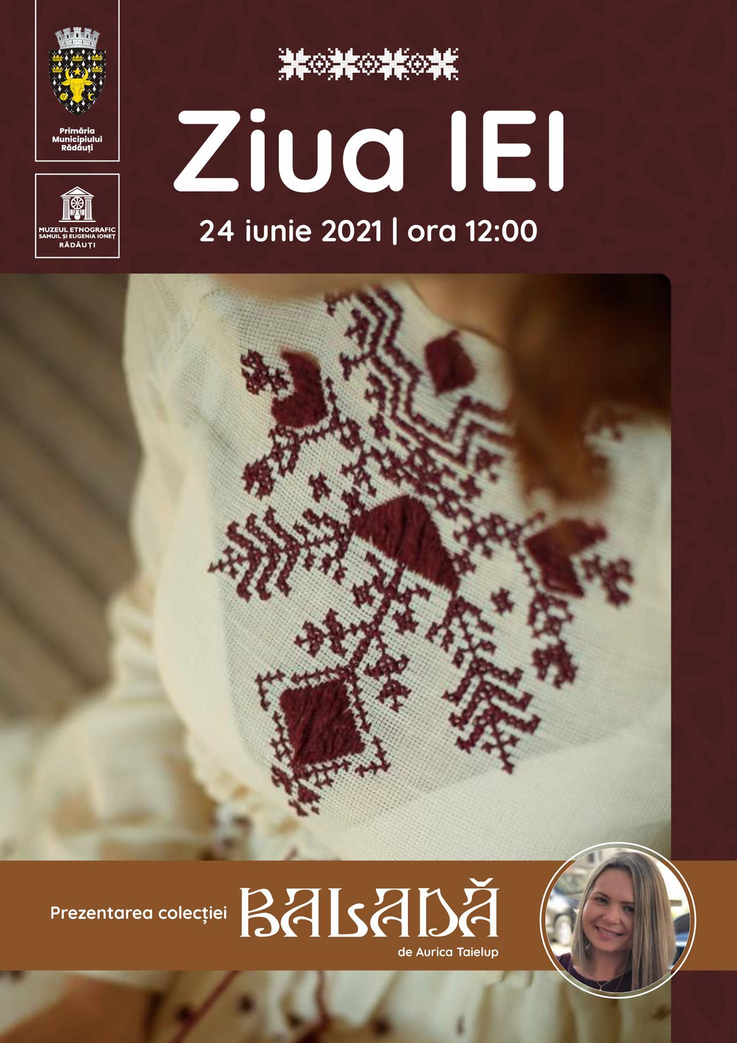 Ziua IEI - Eveniment Radauti - 24 Iunie 2021